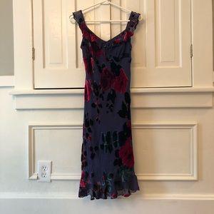 Betsey Johnson Vintage '90s Velvet Burnout Dress